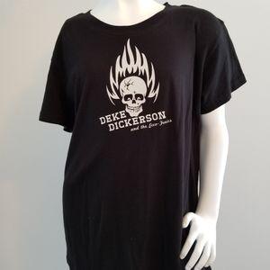 Deke Dickerson T shirt Women's Large